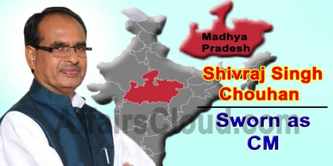 Shivraj Singh Chouhan as New CM