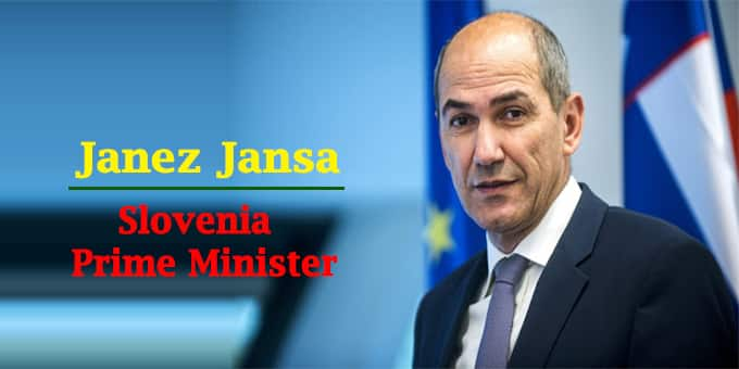 Slovenia Janez Jansa as new PM