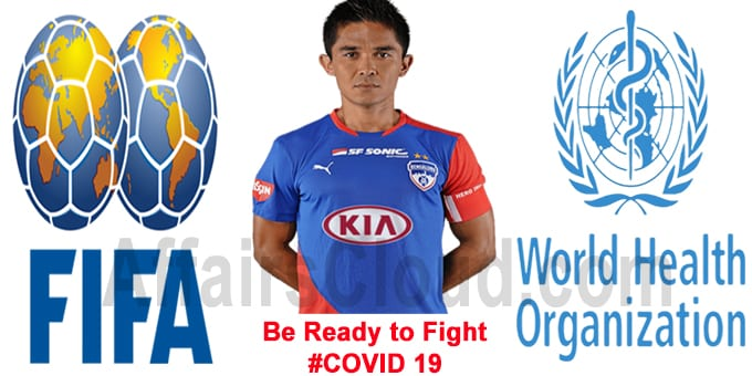 Sunil Chhetri named alongside FIFA-WHO COVID-19 awareness campaign