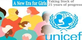 UN report titled A New Era for Girls