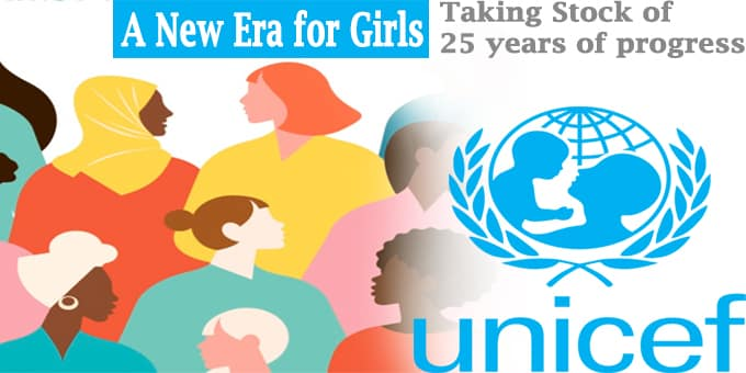 UN report titled A New Era for Girls