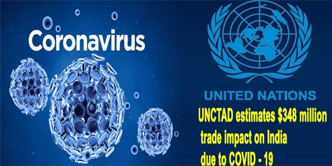 UNCTAD estimates $348 million to corona virus