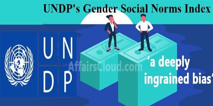 UNDP Gender Social Norms Index