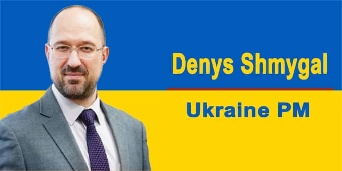 Ukraine Parliament approves Denys Shmygal as new PM