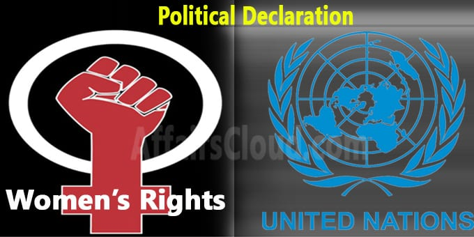 United Nations adopts political declaration on womens rights
