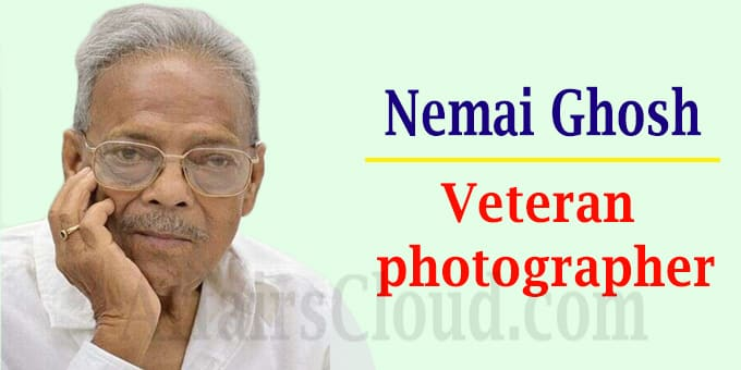 Veteran photographer Nemai Ghosh