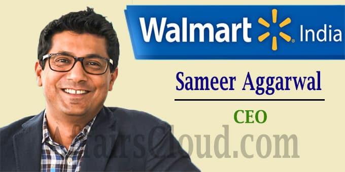 Walmart promotes Sameer Aggarwal as CEO