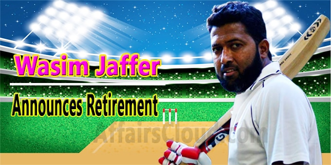 Wasim Jaffer announces retirement