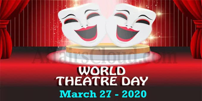 World Theatre Day 2020