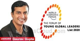 Young Global Leaders list 2020
