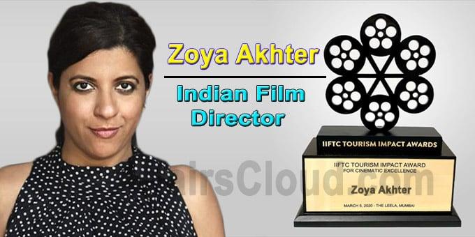 Zoya Akhter IIFTC award