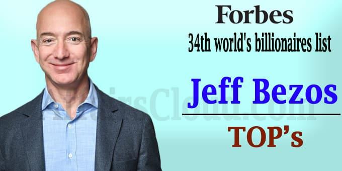 34th annual world's billionaires list