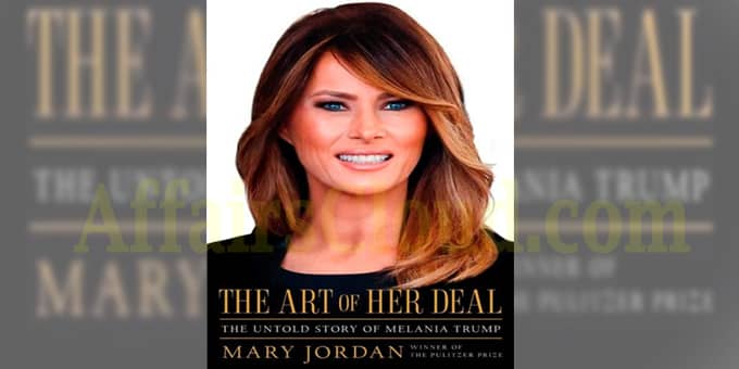 A book, titled The Art of Her Deal