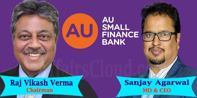 AU Small Finance Bank appoints R V Verma,Agarwal