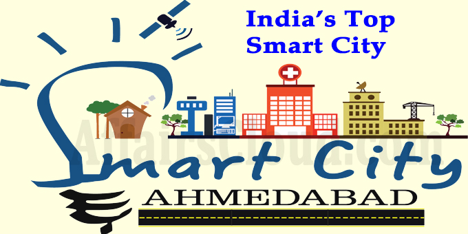Ahmedabad is Indias top Smart City