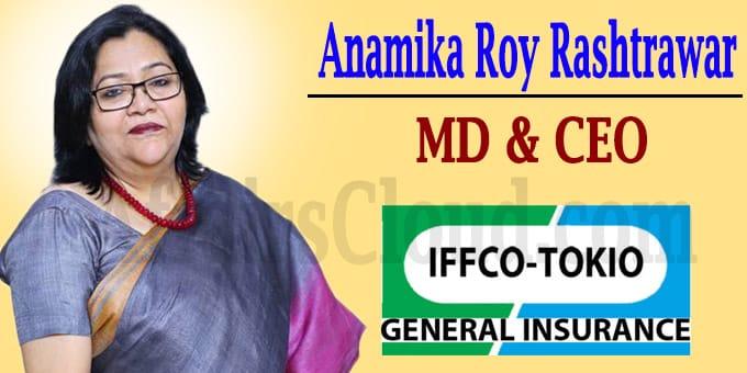 Anamika Roy Rashtrawar as MD, CEO