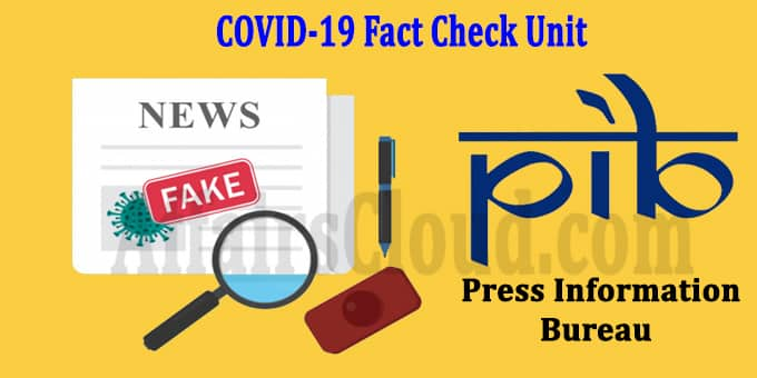 COVID-19 fact check unit
