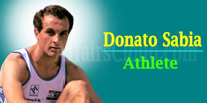 Donato Sabia Athlete