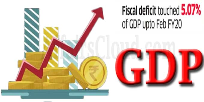 Fiscal deficit at 5