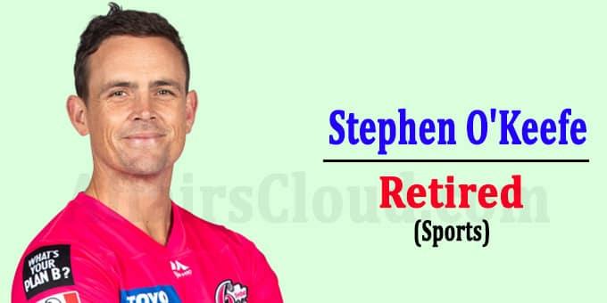 Former AustralianTest spinner Stephen O'Keefe