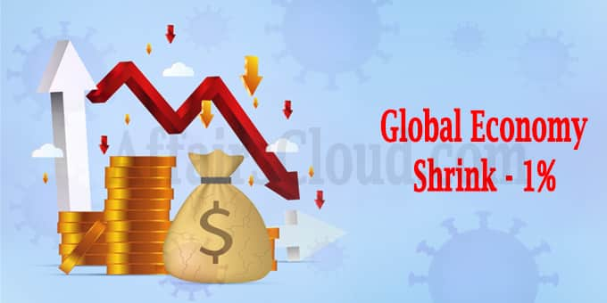 Global economy could shrink