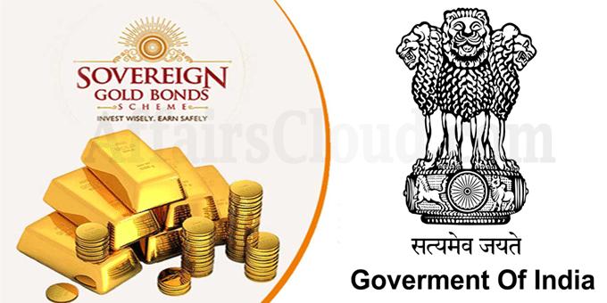 GoI Launches Sovereign Gold Bonds Scheme
