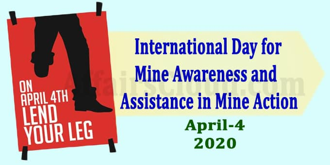 International Day for Mine Awareness and Assistance in Mine Action 2020