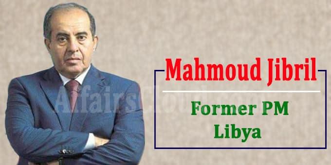 Libya's former PM Mahmoud Jibril dies