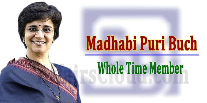 Madhabi Puri Buch as a WTM of SEBI