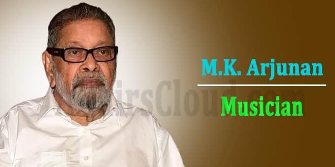 Music composer Arjunan