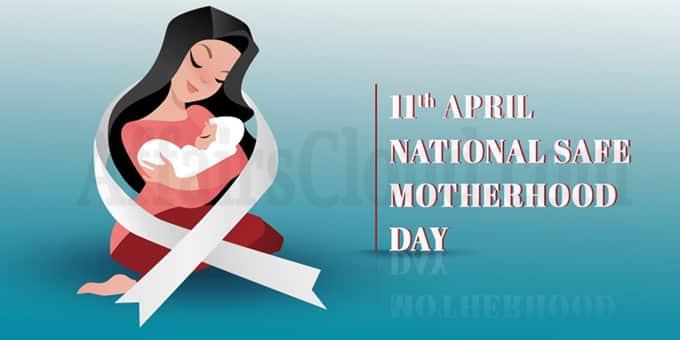 National Safe Motherhood Day 2020