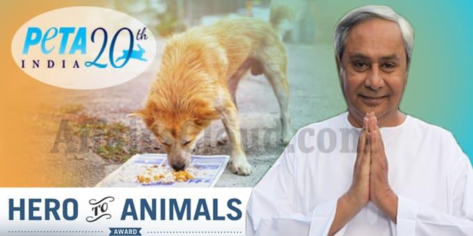 Odisha CM Patnaik gets PETA s Hero to Animals Award