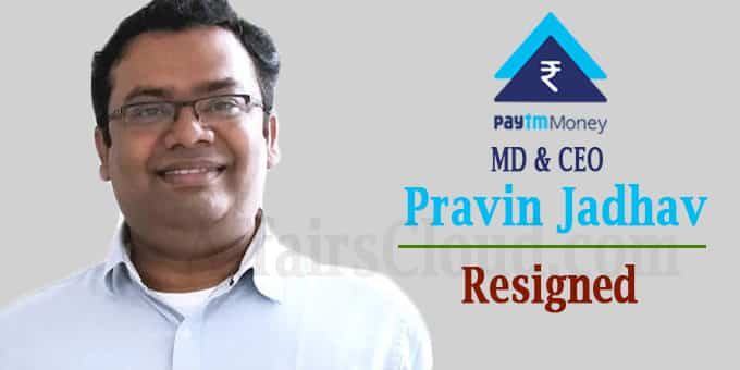 Paytm Money MD and CEO Pravin Jadhav