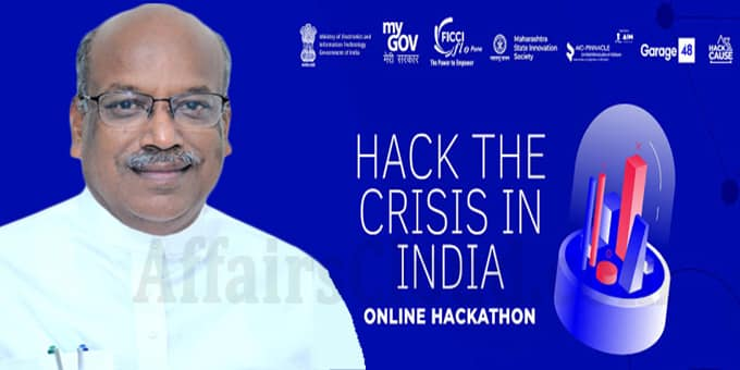 Sanjay Dhotre launches Hack the Crisis India hackathon