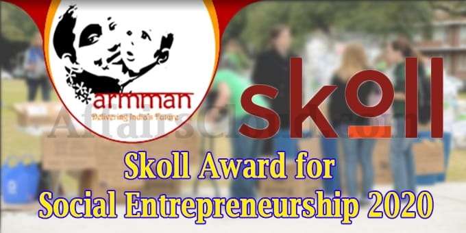 Skoll Award for Social Entrepreneurship 2020