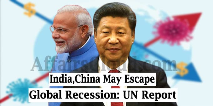World economy, except India, China, will go into recession